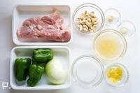 「鶏肉のカシューナッツ炒め」の材料