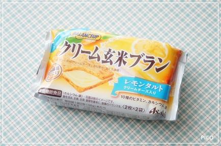 アサヒフードアンドヘルスケア バランスアップ クリーム玄米ブラン レモンタルト