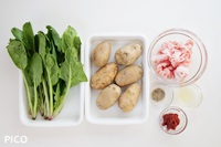 「豆腐キッシュ」の材料