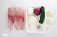 「食べるタルタルソースで白身魚のムニエル」の材料