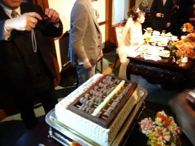 そろばんケーキ