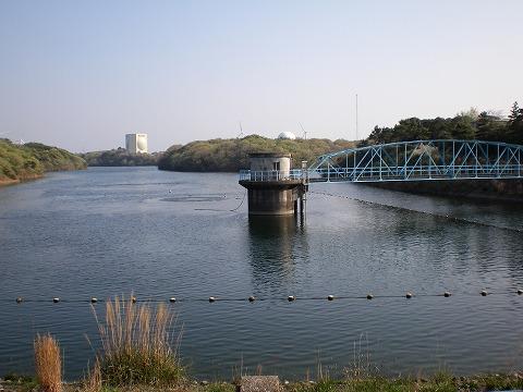 ダム湖(白石貯水池)