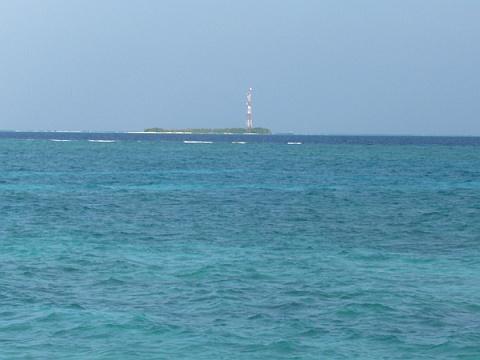 海の中のアンテナ