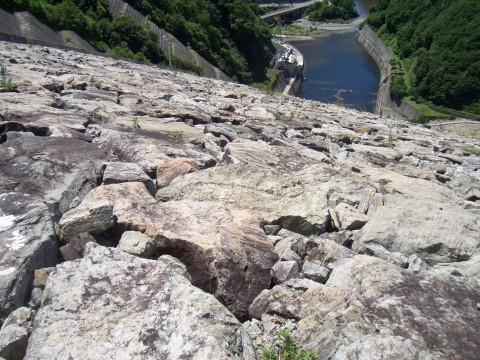 奈良俣ダム 上から