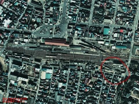 銚子駅転車台