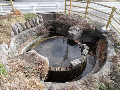 赤城第二円筒分水