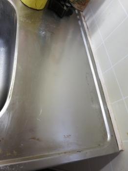 キッチンシンク 掃除