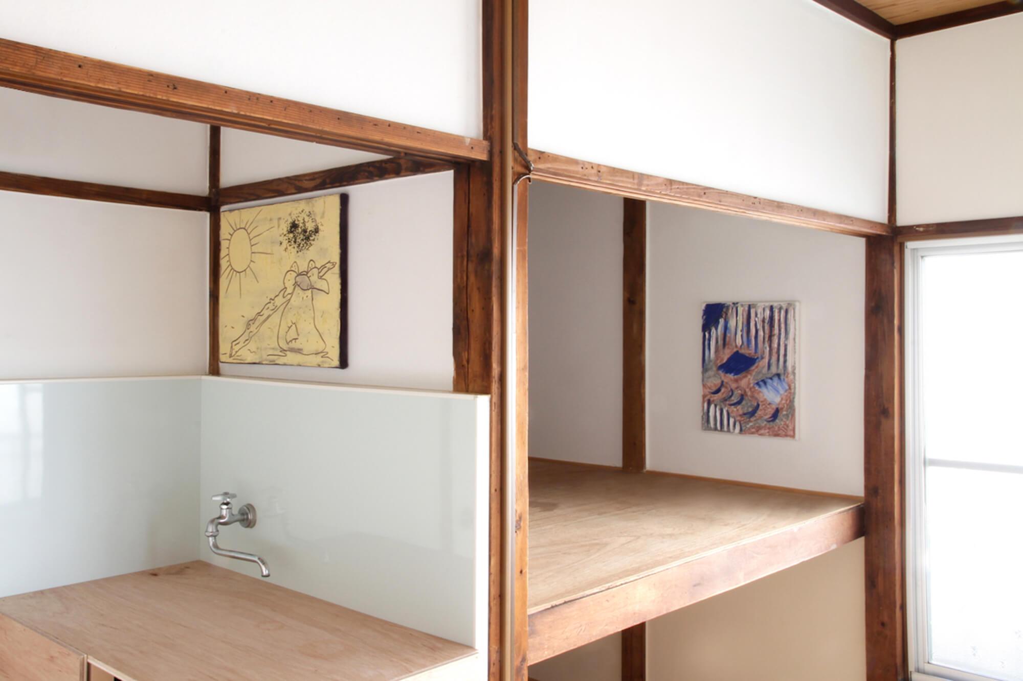 Installation View, Kitchen and Wardrobe Space.jpg