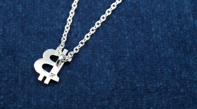 BTC Necklace M/SILVER3