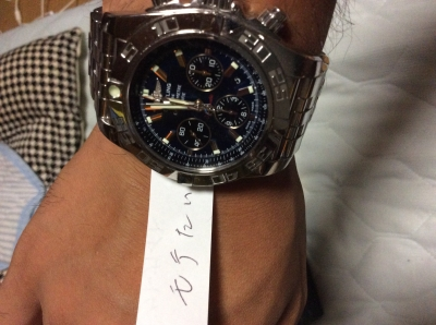 detailed look 1fa87 1d4d2 腕時計を買ってみた ブライトリング クロノマット44   モテ活 ...