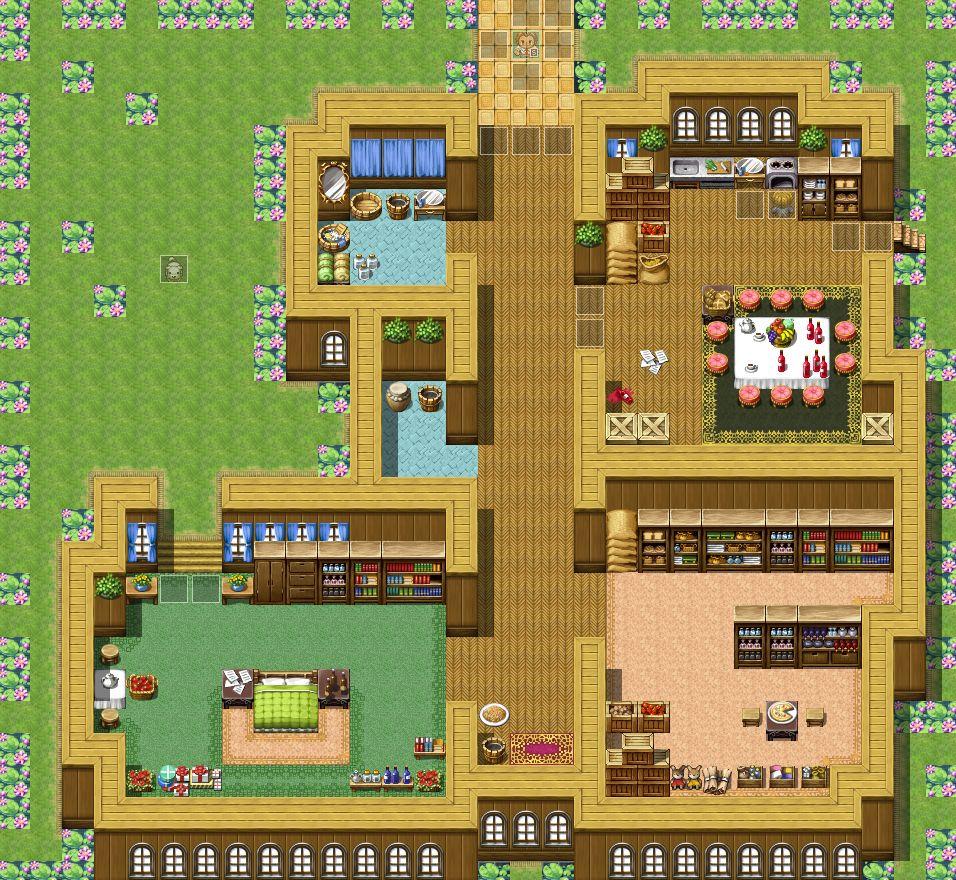 RPGツクールVX Ace マップ作成