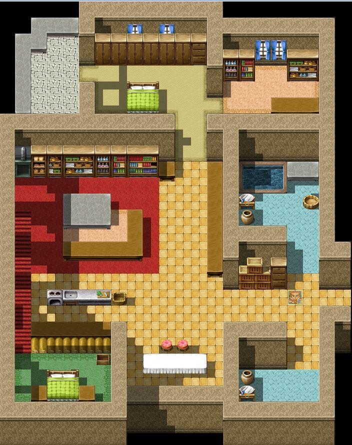 RPGツクールVX Ace タイバニ 虎徹の部屋