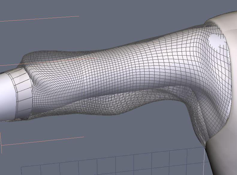 DAZStudio4 Shade 虎徹の服と小物作成 Hexagon メタセコ Metasequoia0226.JPG