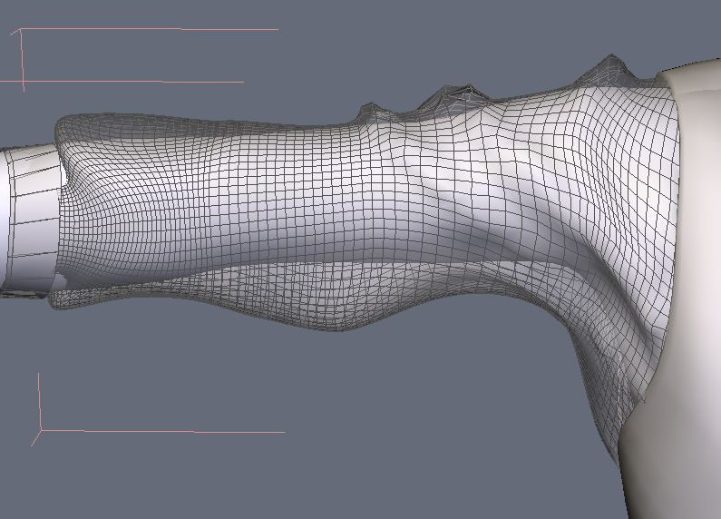DAZStudio4 Shade 虎徹の服と小物作成 Hexagon メタセコ Metasequoia0227.JPG