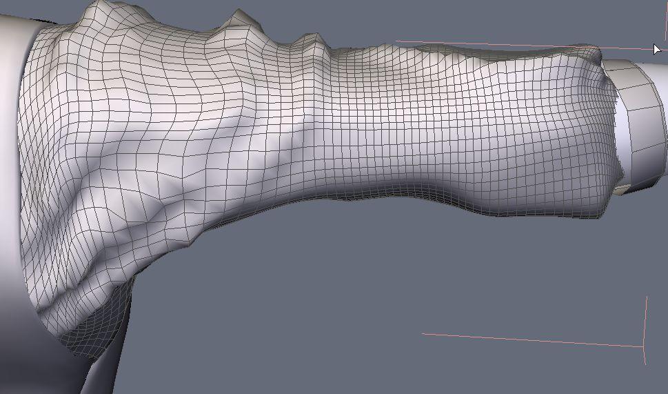 DAZStudio4 Shade 虎徹の服と小物作成 Hexagon メタセコ Metasequoia0228.JPG