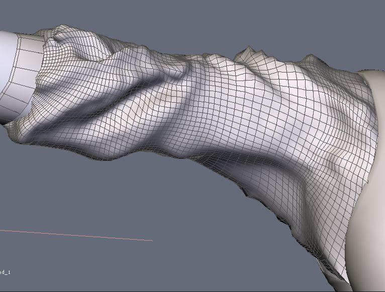 DAZStudio4 Shade 虎徹の服と小物作成 Hexagon メタセコ Metasequoia0229.JPG