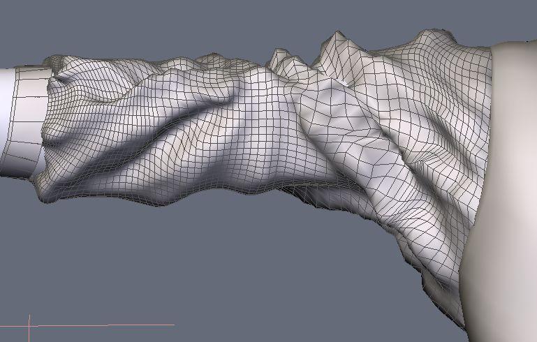 DAZStudio4 Shade 虎徹の服と小物作成 Hexagon メタセコ Metasequoia0230.JPG