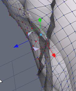 DAZStudio4 Shade 虎徹の服と小物作成 Hexagon メタセコ Metasequoia0231.JPG