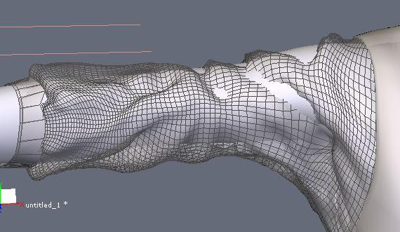 DAZStudio4 Shade 虎徹の服と小物作成 Hexagon メタセコ Metasequoia0236.JPG