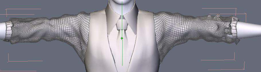 DAZStudio4 Shade 虎徹の服と小物作成 Hexagon メタセコ Metasequoia0238.JPG