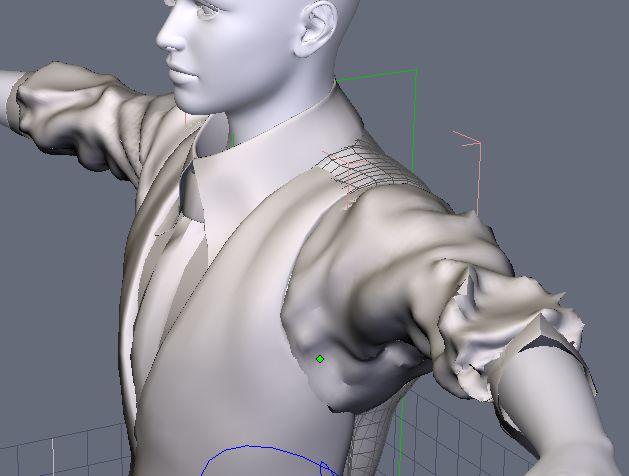 DAZStudio4 Shade 虎徹の服と小物作成 Hexagon メタセコ Metasequoia0243.JPG