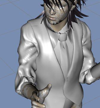 DAZStudio4 Shade 虎徹の服と小物作成 Hexagon メタセコ Metasequoia0285.JPG