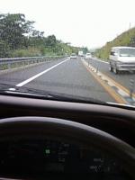雨の徳島道