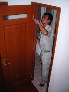 1年点検・ドア
