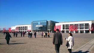 中国展示会会場