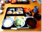 てんぷらと和食 山の上 朝ごはん
