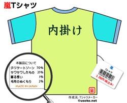 嵐Tシャツ