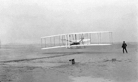 ライトフラヤー号 人類初飛行