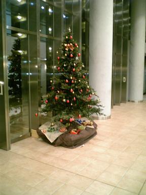 自宅クリスマスツリー