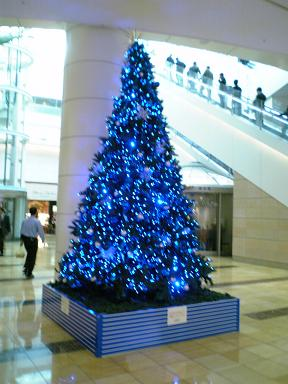 羽田空港クリスマスツリー