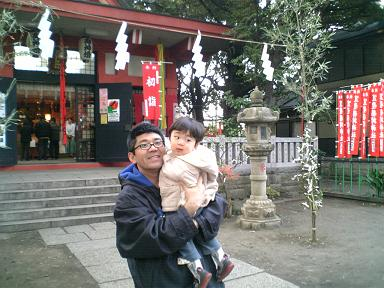 笠のぎ稲荷神社初詣