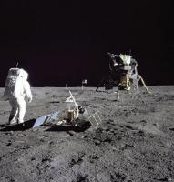 アポロ11号月面着陸人類最初の一歩3