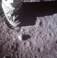 アポロ11号月面着陸人類最初の一歩4