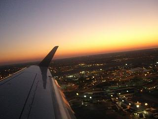 ニューヨーク上空