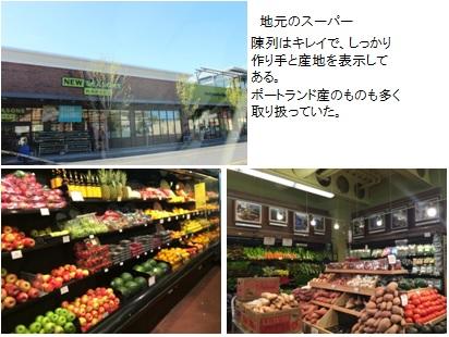 ニューシーズンズ 野田宜成 陳列はキレイで、しっかり作り手と産地を表示してある。ポートランド産のものも多く取り扱っていた。