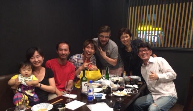 田口さん家族と
