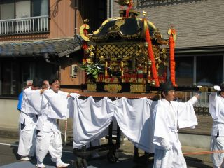 山口神社の御神体