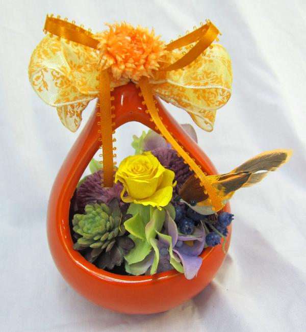 2015 04 21_オレンジの花器と鳥0957-1.jpg