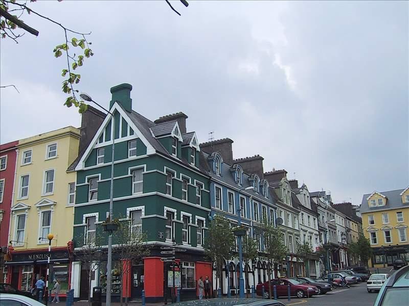 アイルランド、エニスの街並み