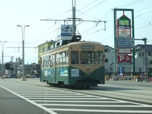 富山市のちんちん電車