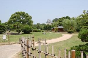 明石城庭園