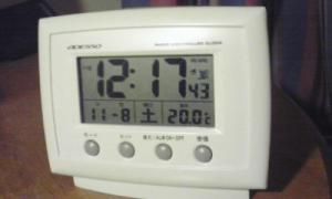 寝る前の室温
