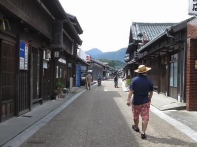亀山市の関宿