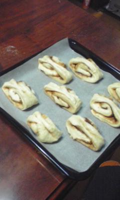 焼く前のパン