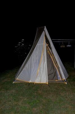 今年初のキャンプ
