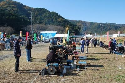 岐阜県水晶の湯発動機運転会